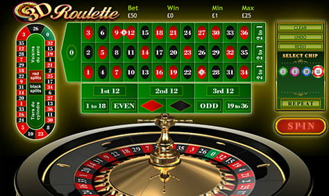 Overview of 3D Roulette