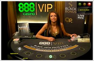 Preview for 888 live casino blackjack