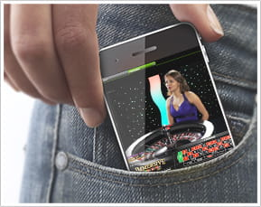 Mobile casino and live dealer games
