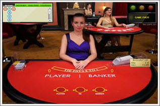Preview live casino baccarat
