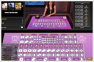 Preview live casino sic bo