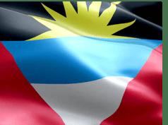 Bild der Antigua- und Barbuda-Flagge