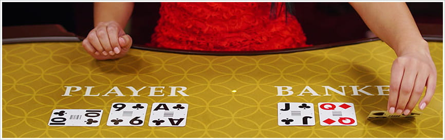 Baccarat Drawing Rules
