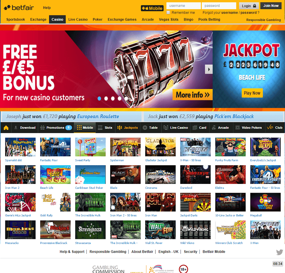 All jackpots casino download