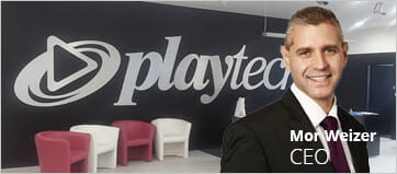 CEO of Playtech Software Company