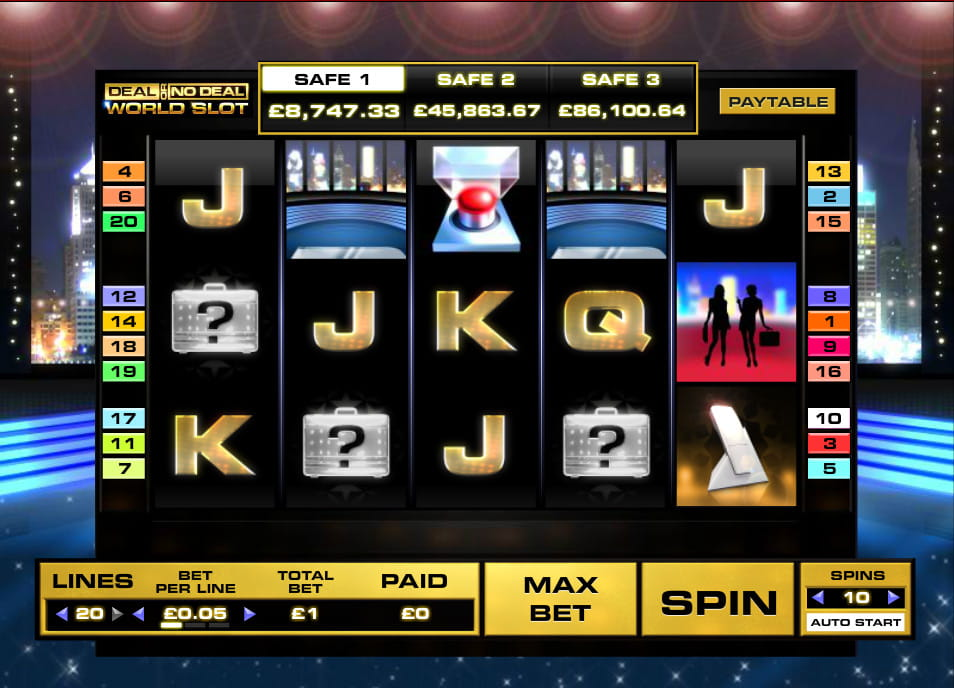 Deal Or No Deal Slot Game