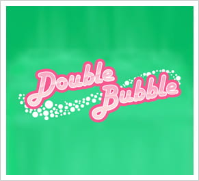 Double Bubble slots developed by Gamesys