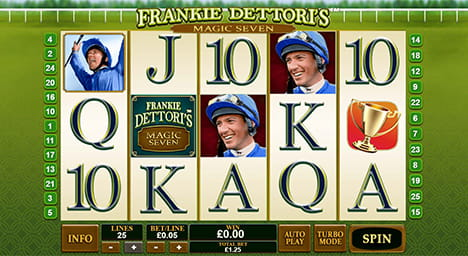 Frankie Dettori's Magic Seven Online Slot Game