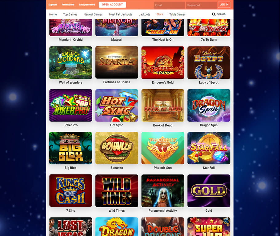 Leo Vegas Collection of Slots