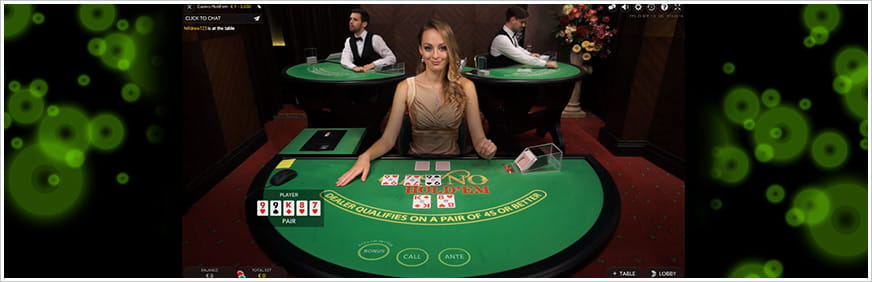 Casino Hold'em Is Best Played with a Live Dealer