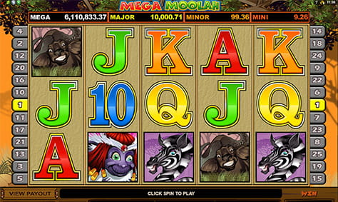 Overview of Mega Moolah Game Features
