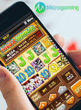 Microgaming's Games for Mobile Devices