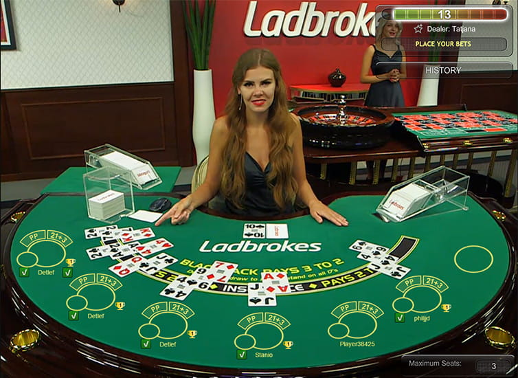 Ladbrokes Blackjack by Playtech