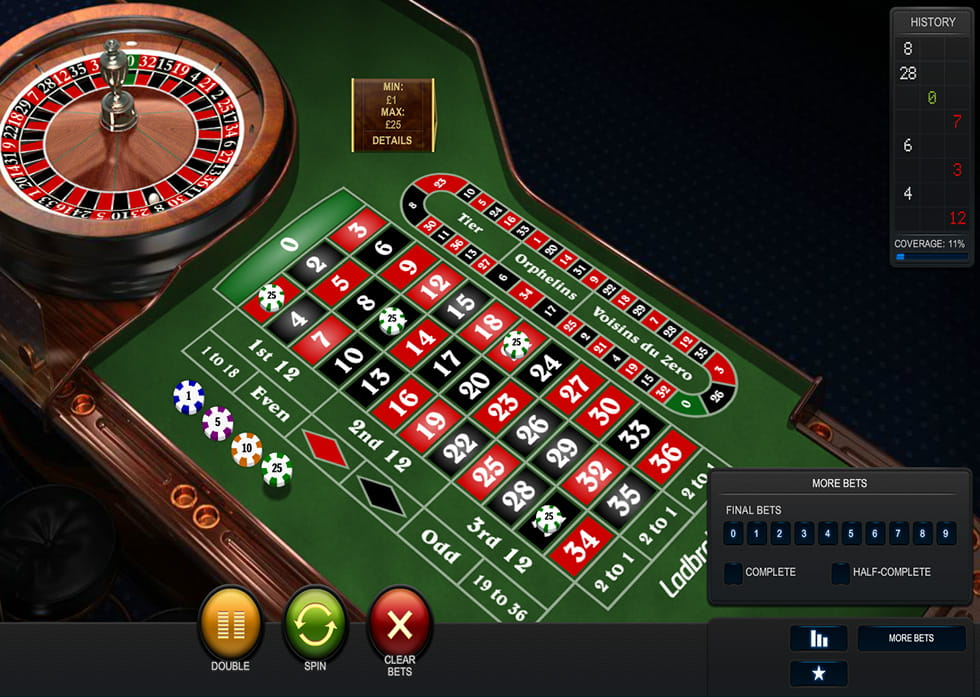 Play Premium European Roulette Online at Casino.com UK
