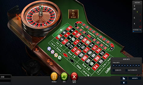 Quick spin roulette online