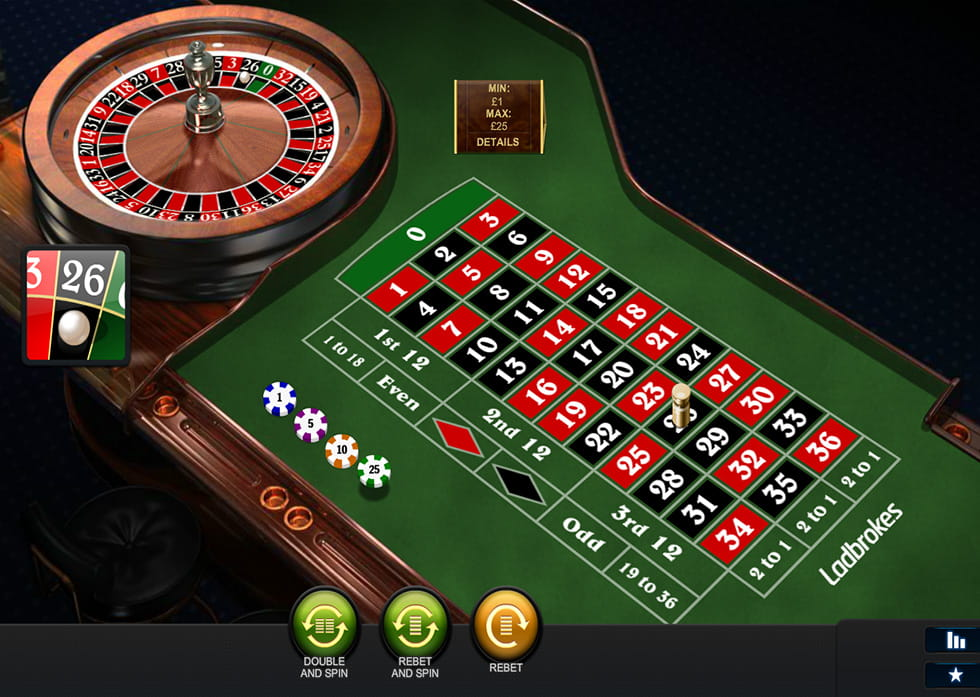 Play Premium Roulette Pro at Casino.com UK