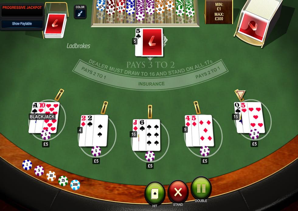 Blackjack progressive betting statistics troy bolton bet on it sassy