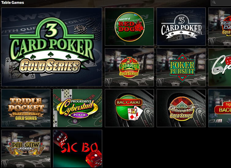 Table Games Powered by Microgaming at Betway Casino