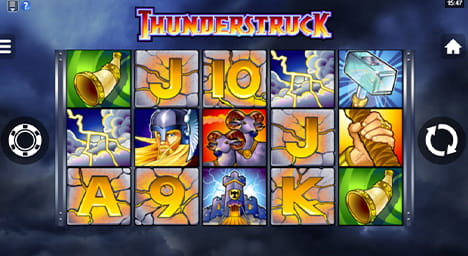 Thunderstruck Online Slot Game
