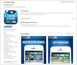 Preview of the WH Casino App in iTunes Store